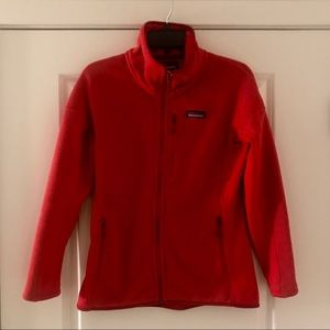 Patagonia women's sweater fleece jacket LIKE NEW!